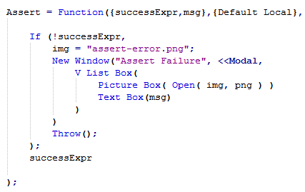 assert-function