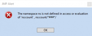 namespace-error